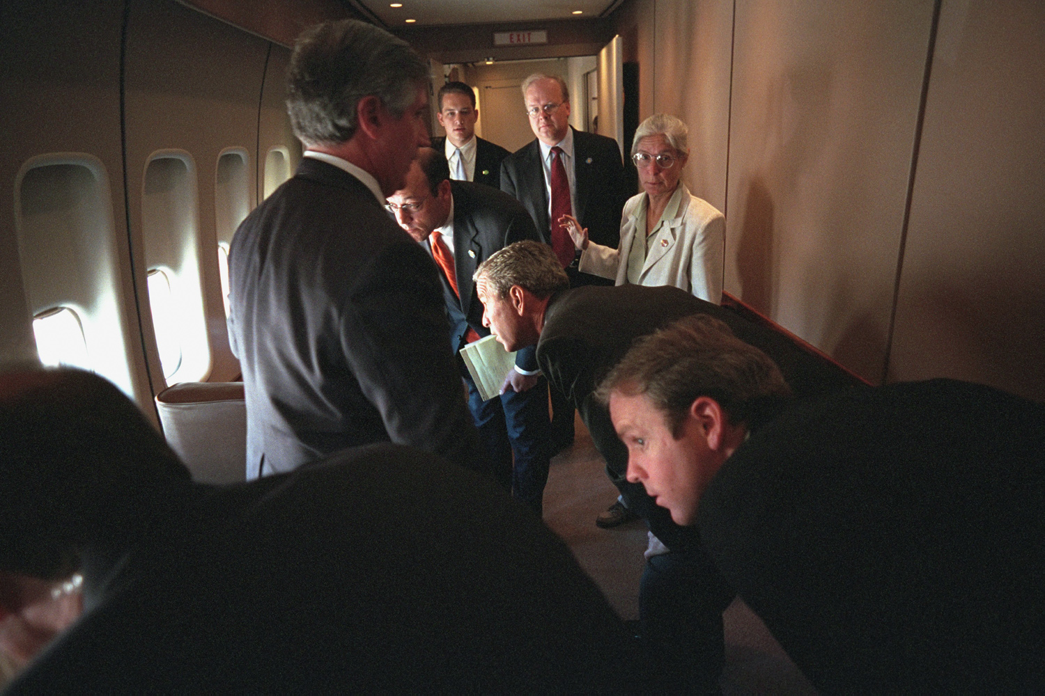 Air Force One. Sept. 11, 2001 : President George W. Bush : Welcome to Eric Draper Photography -  Commercial, Editorial, Weddings