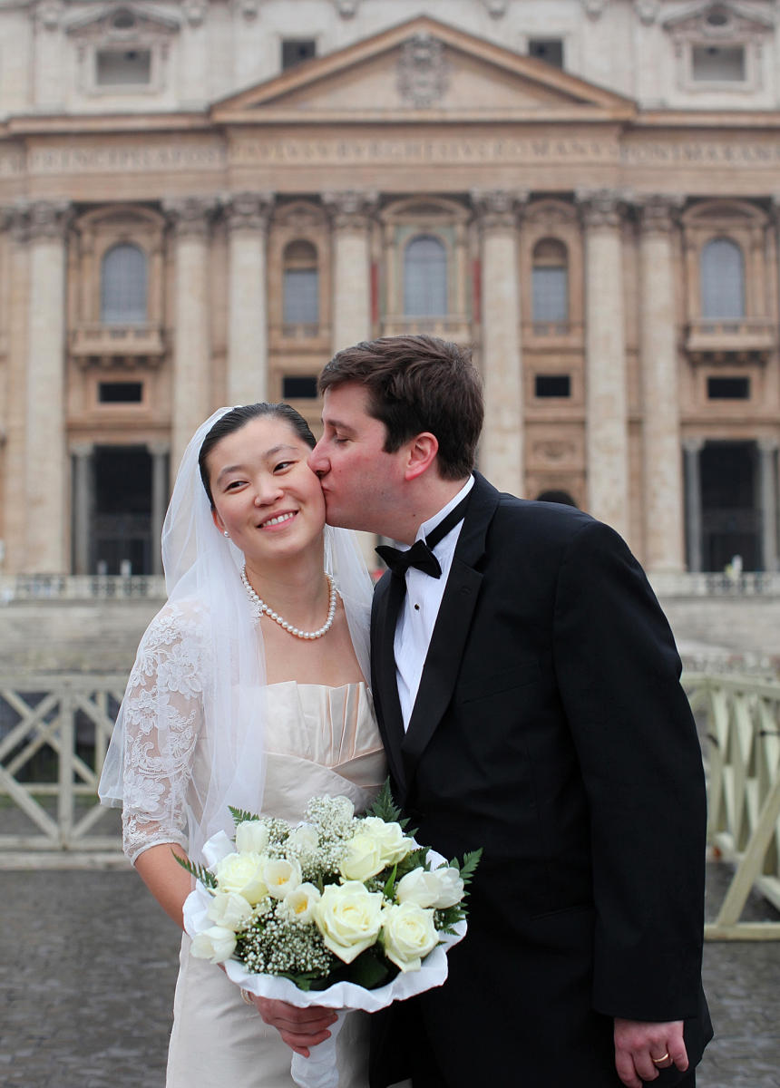 Mae & Larry. Rome, Italy : Weddings : Welcome to Eric Draper Photography -  Commercial, Editorial, Weddings