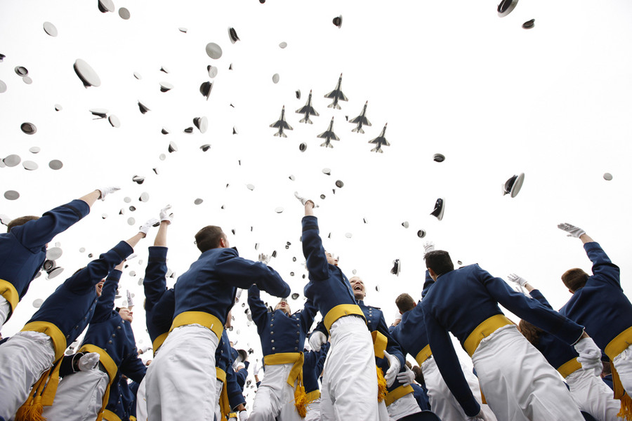 Air Force Academy Graduation, Colorado. : Editorial : Welcome to Eric Draper Photography -  Commercial, Editorial, Weddings