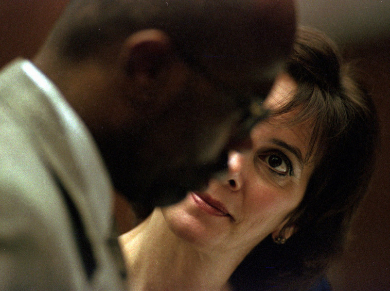 Prosecutor Marcia Clark. OJ Simpson Trial : Editorial : Welcome to Eric Draper Photography -  Commercial, Editorial, Weddings
